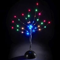 See more information about the 36 LED Multicolour Indoor Tree Decoation Battery 40cm
