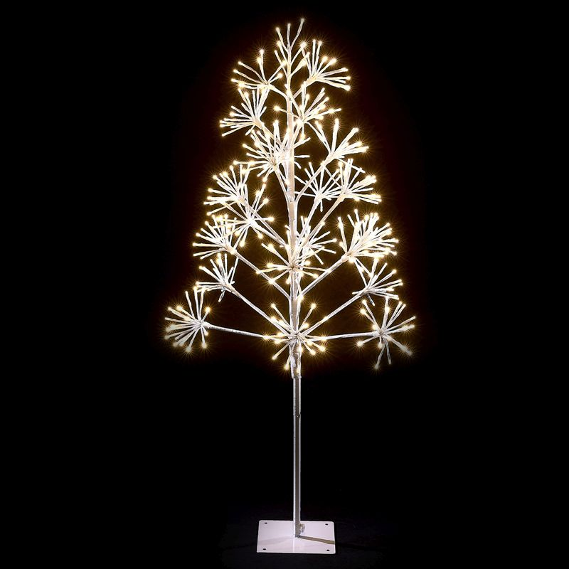 120cm (4 Foot) Starburst 378 Bulb Warm White LED Christmas Tree