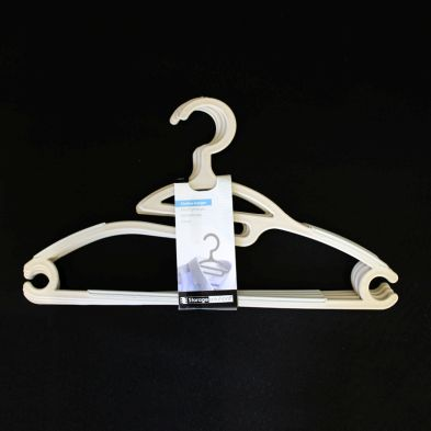 Image of Clothes Hanger 4 Piece Set - Beige