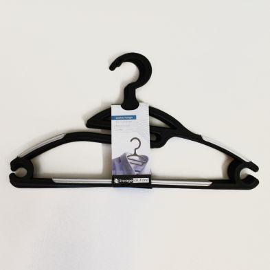 Image of Clothes Hanger 4 Piece Set - Black