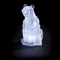 See more information about the LED Cool White Indoor Static Polar Bear Figure Battery 11.5 x 9 x 16cm