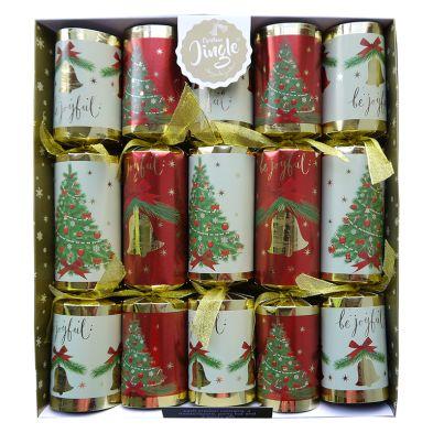 10 Deluxe Crackers Bells Of Joy 14 Inch