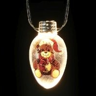 See more information about the 20 White Indoor Static Teddy Bear String Lights Battery 2m