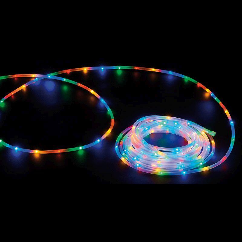 60 led multicolour frosted light tube christmas light