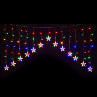See more information about the 120 LED Multicolour Indoor Animated Curtain Light Mains 80x144cm