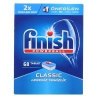 See more information about the Finish Powerball Classic Dishwasher Tablets 68 Washes
