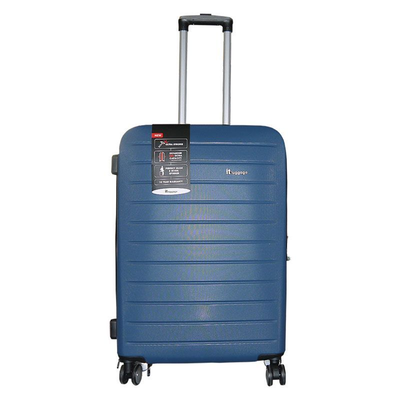 IT Luggage 25 Inch Light Blue 4 Wheel Legion Suitcase