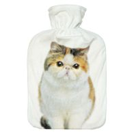 See more information about the 2 Litre Hot Water Bottle Brown & White White Cat