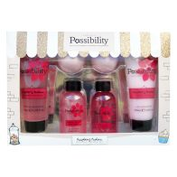 See more information about the Possibility Of London Raspberry Pavlova Bathing Pamper Gift Set