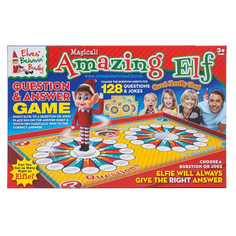 Elves Behavin' Badly Amazing Elf Question & Answer Game