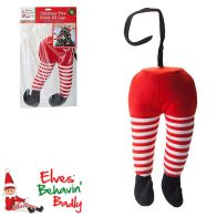 See more information about the Elves Behavin' Badly Elf Novelty Tree Legs