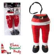 See more information about the Elves Behavin' Badly Bendy Santa Legs 35cm