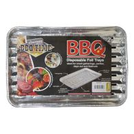 See more information about the 2Pk BBQ Grill Foil Trays Disposable