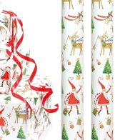 See more information about the 4m Whimsical Christmas Wrap - Santa