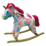 See more information about the Pink Unicorn Rocker Decorative Christmas Toy