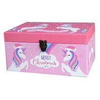 See more information about the Christmas Unicorn Chest Christmas Eve Gift Box Small
