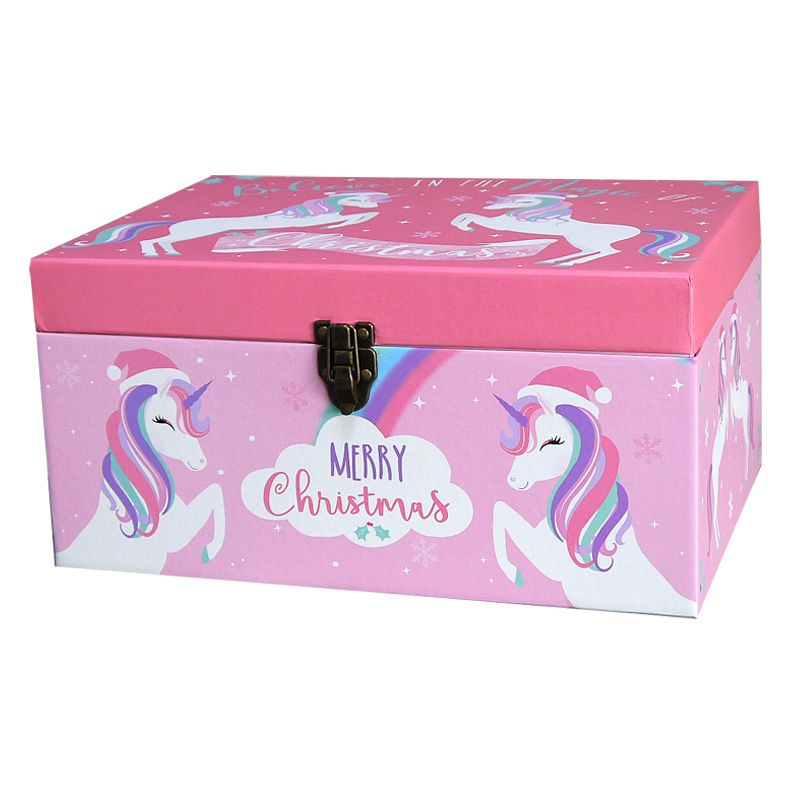 Unicorn Christmas Eve Gift Box Small