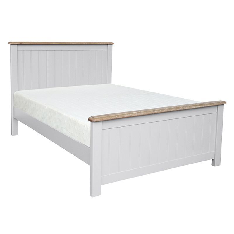 Olivia Oak 4ft 6in Double High End Bed