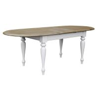 See more information about the Olivia Extending Dining Table Grey & Oak 6/8 Seater