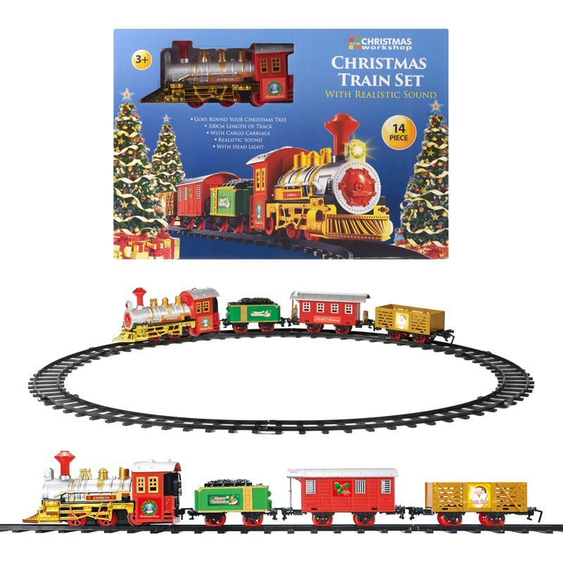 Christmas Train.The Christmas Workshop Christmas Train Set