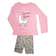 See more information about the Girls Llama Pyjamas Pink & Grey 2-3 years