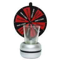 See more information about the Wheel Of Shots Party Drinking Game Set