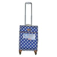 See more information about the IT Luggage 22 Inch Blue The Lite Summer Spots Suitcase