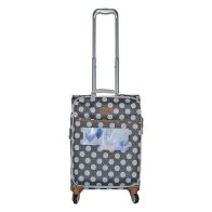 See more information about the IT Luggage 22 Inch Grey The Lite Summer Spots Suitcase