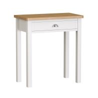 See more information about the Jasmine White 1 Drawer Dressing Table