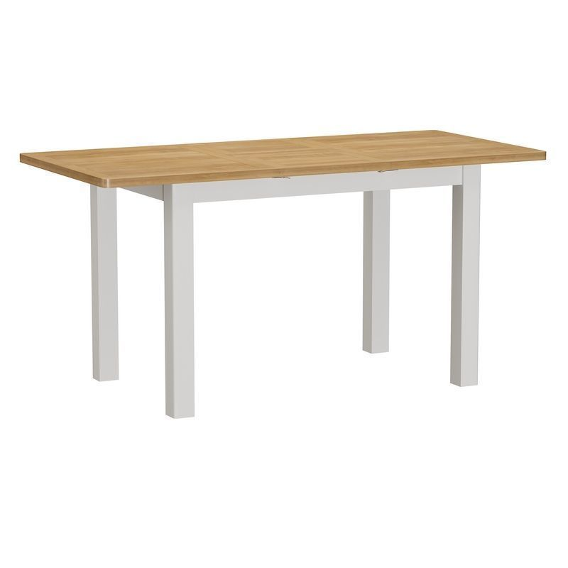 Jasmine White 1.2m Extending Dining Table