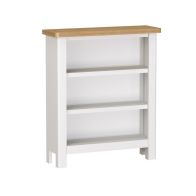 See more information about the Jasmine White 3 Shelf Small Wide bookcase