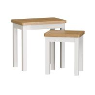 See more information about the Jasmine Duo Nest of Tables Oak & White