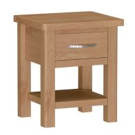 See more information about the Sienna 1 Drawer Lamp Table
