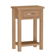 See more information about the Sienna 1 Drawer Telephone Table