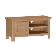 See more information about the Sienna TV Unit Oak 1 Door 2 Shelf