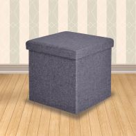See more information about the Secreto Storage Ottoman Grey Small