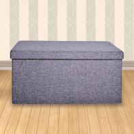 See more information about the Secreto Storage Ottoman Grey Large