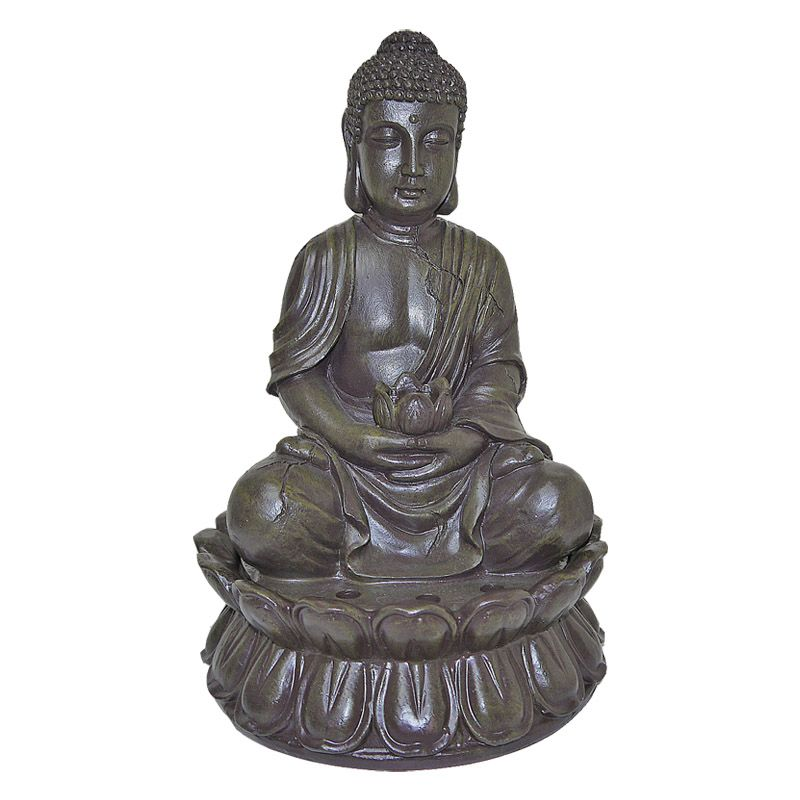 Buddha Indoor Table Top Illuminated Water Fountain