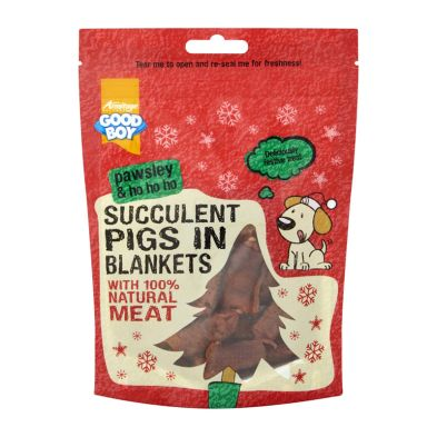 Good Boy Succulent Pigs In Blankets 80g