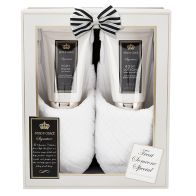 See more information about the The Ultimate Signature Fluffy Slipper Set