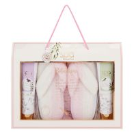 See more information about the The Ultimate Home Spa Flip Flop Slipper Set Botanique Fragrance