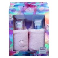 See more information about the Bubble Boutique Slipper Gift Set