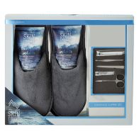 See more information about the Skin Expert For Men Modern Mariner Lounging Slipper Set