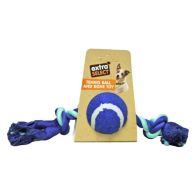See more information about the Extra Select Tennis Ball & Rope Toy Orange