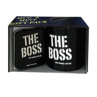 See more information about the The Boss Mug & Mint Pack 405g