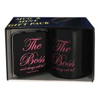 See more information about the The Boss Female Mug & Mint Pack 405g