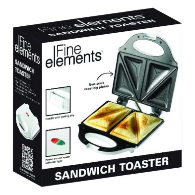 Image of Fine Elements Sandwich Toaster 2 Portion