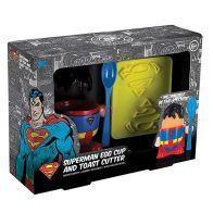 See more information about the DC Comics Superman Breakfast Egg Cup Set