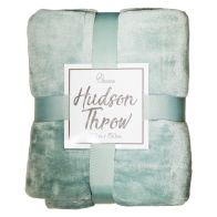 See more information about the Hudson Throw 125x150 Light Blue