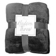 See more information about the Hudson Throw 125x150 Dark Grey